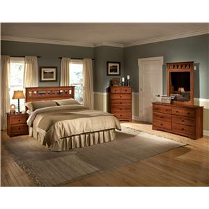 Standard Furniture Orchard Park Twin Bedroom Group