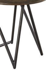 Angular metal legs