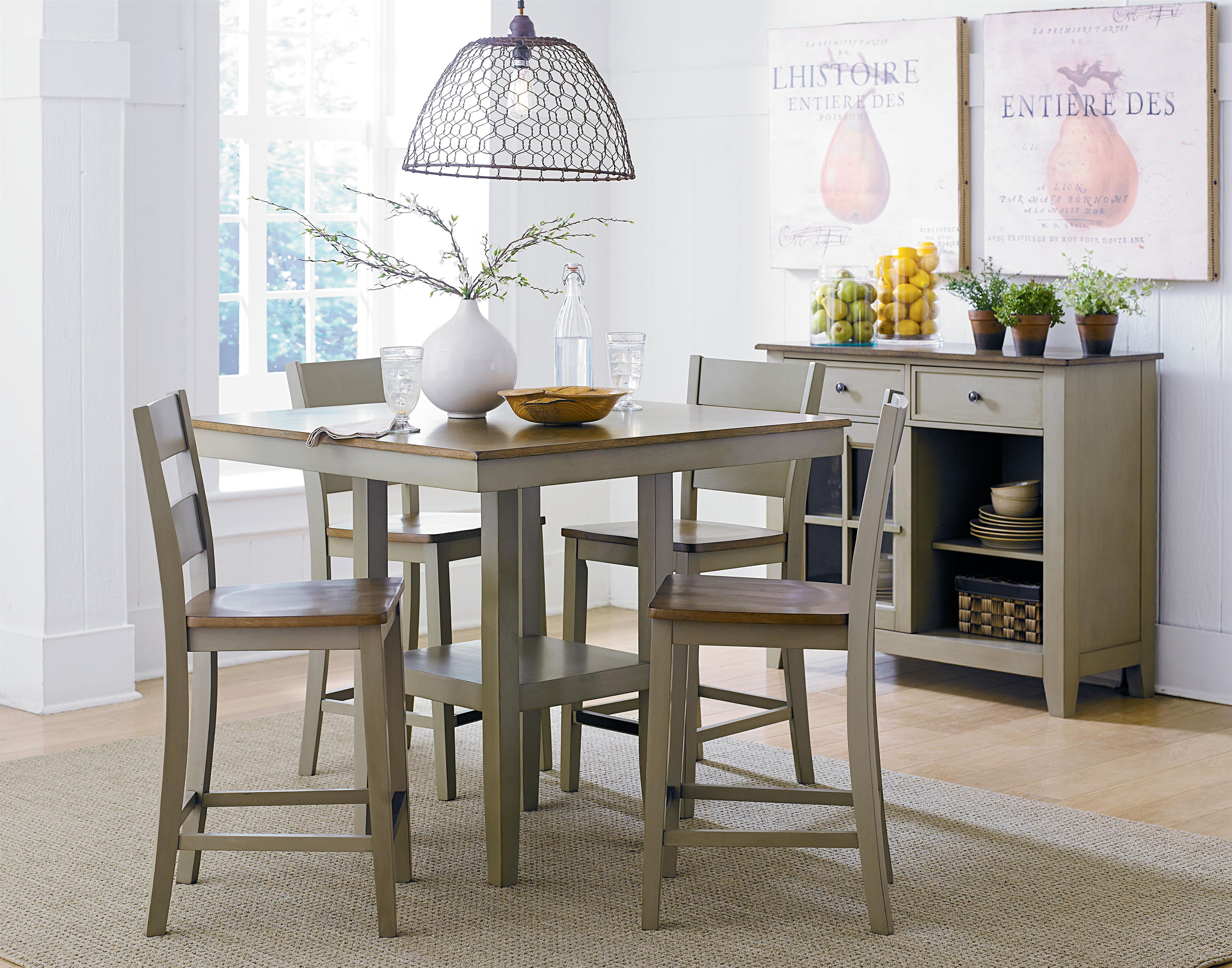 Standard Furniture Pendwood Sage Casual Dining Room Group - Item Number: 15620 Dining Room Group 2