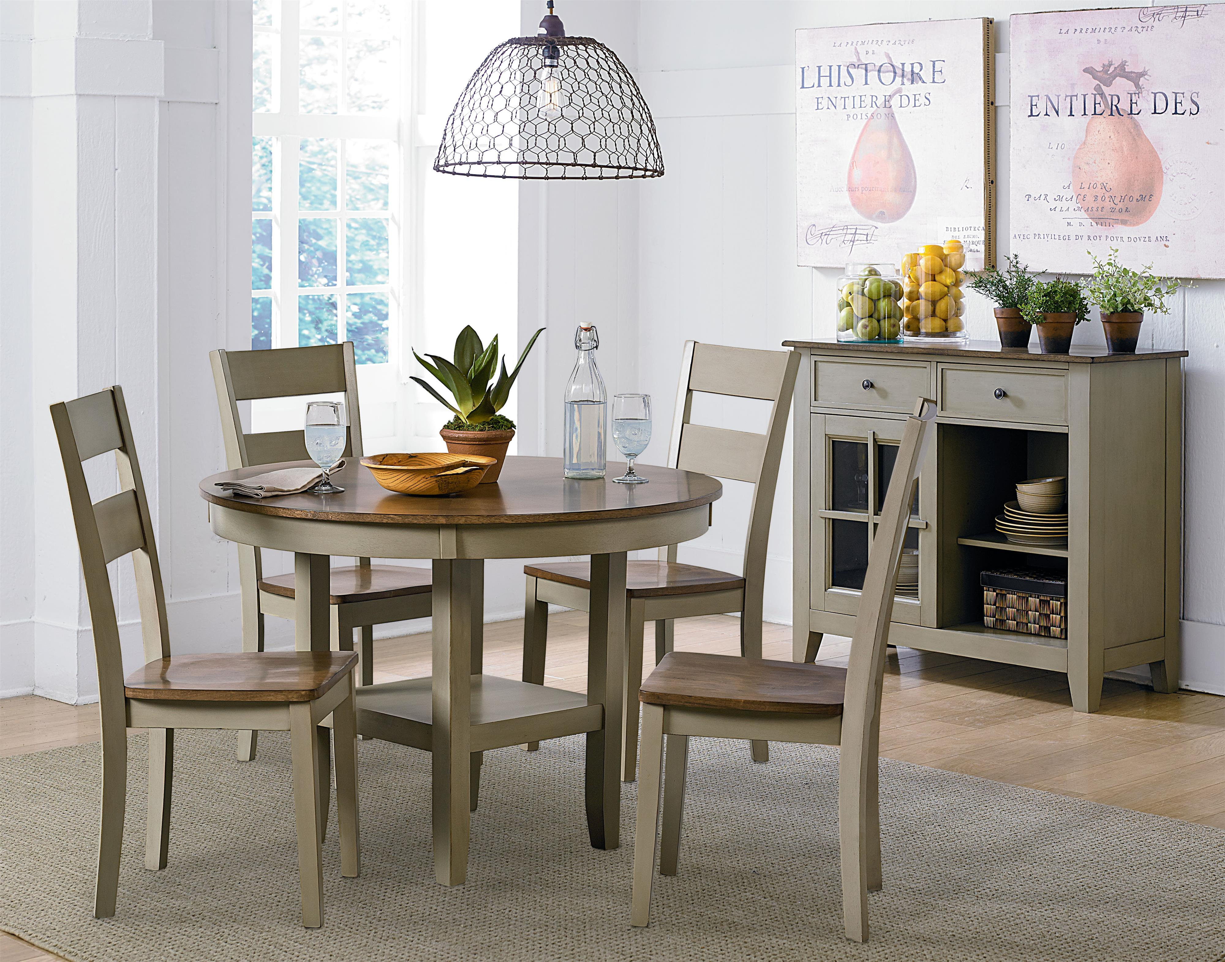 Standard Furniture Pendwood Sage Casual Dining Room Group - Item Number: 15620 Dining Room Group 1