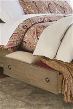 Convenient Storage in Bed