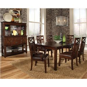 Standard Furniture Sonoma Formal Dining Room Group