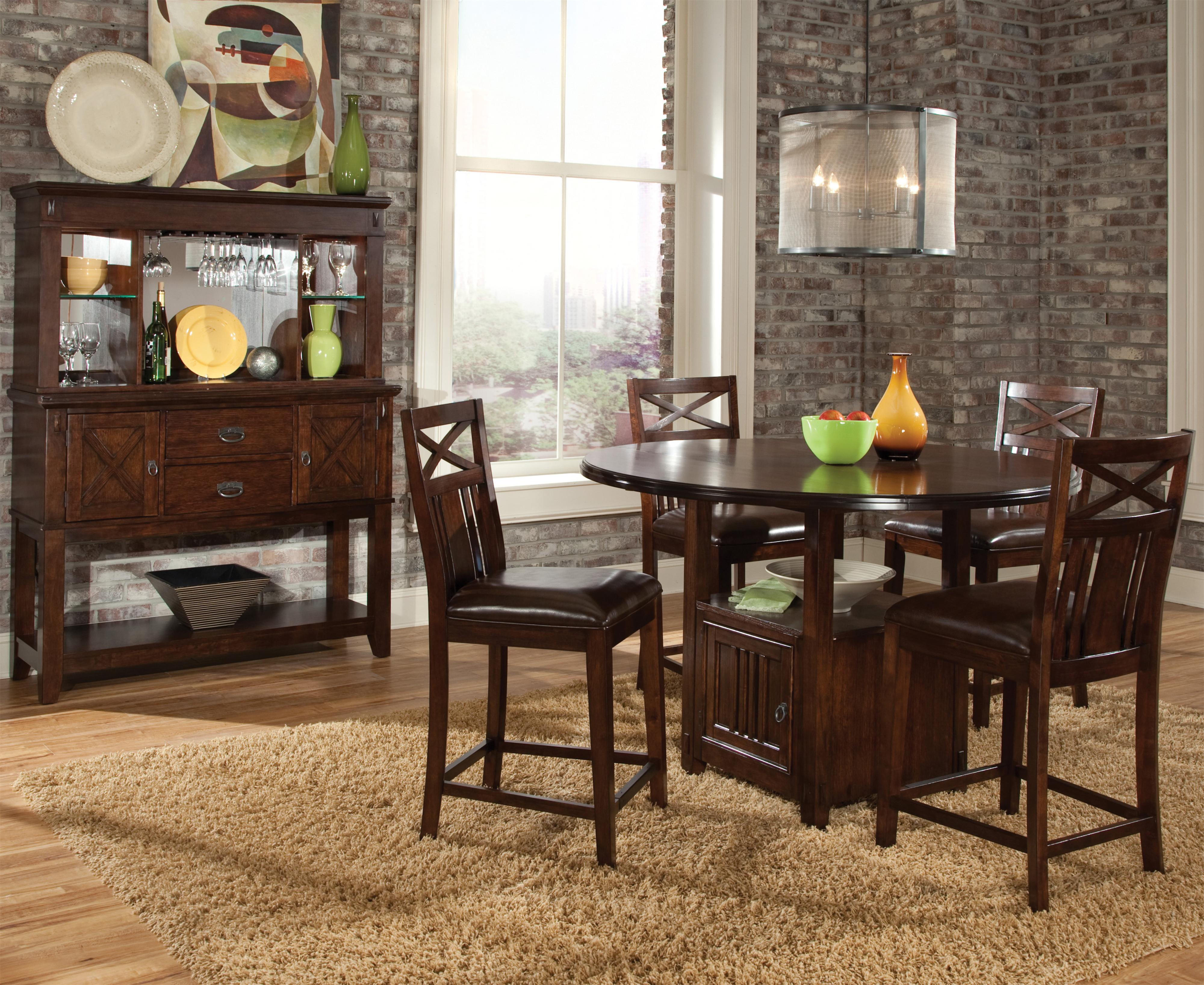 Standard Furniture Sonoma Casual Dining Room Group - Item Number: 86600 Dining Room Group 1