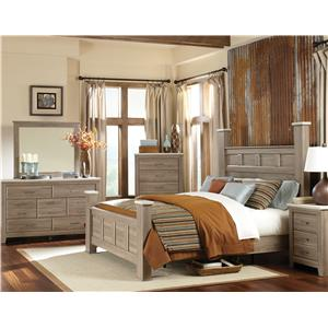 Vendor 855 Stonehill King Bedroom Group