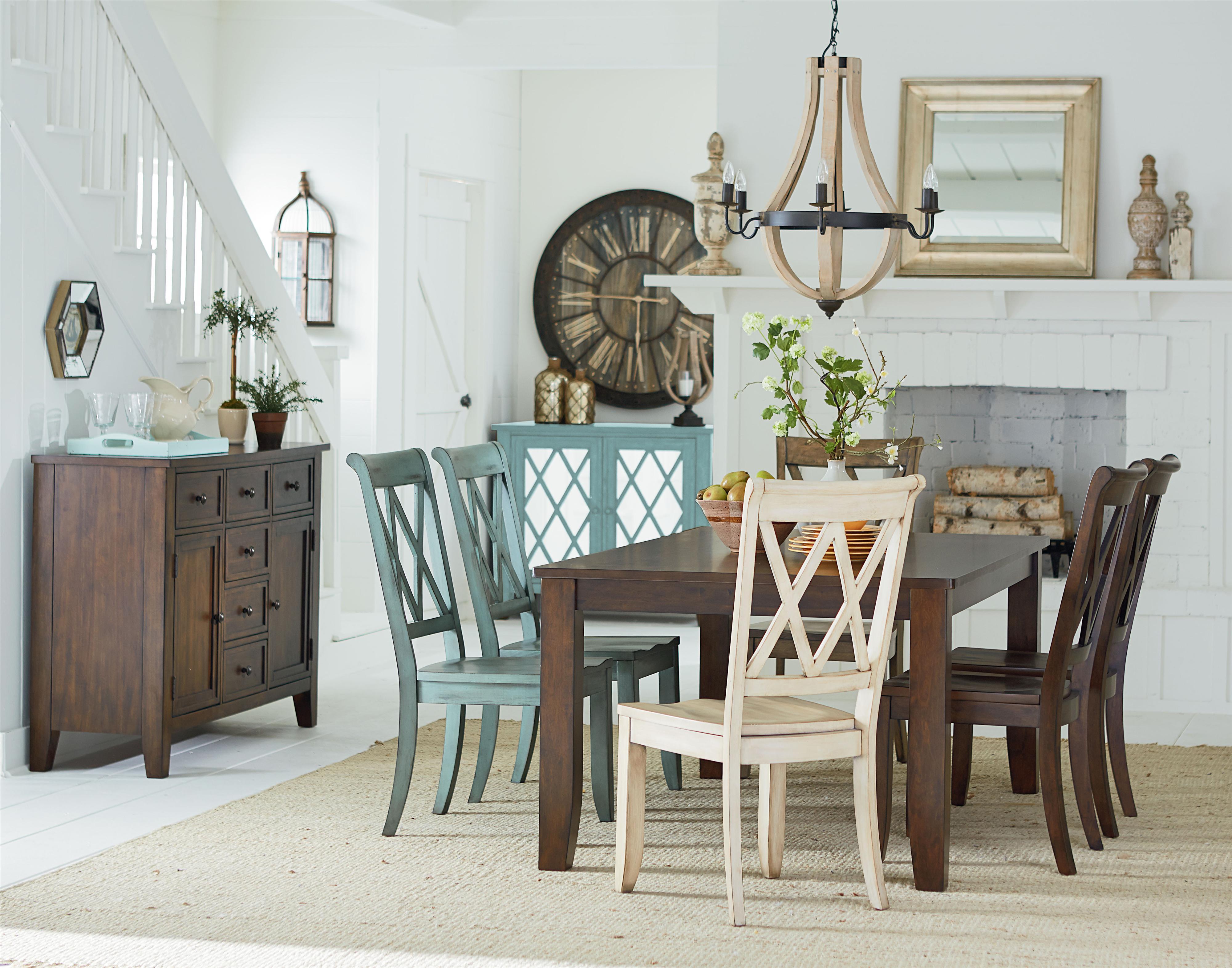 Standard Furniture Vintage Dining Room Group - Item Number: 11300 Dining Room Goup 1