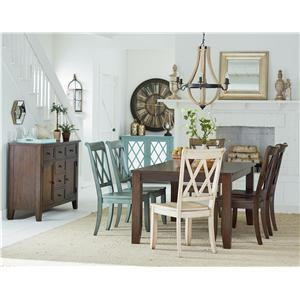 Standard Furniture Vintage Dining Room Group
