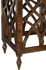 Intricate Woodcarved Design Element Used Throughout