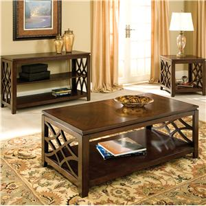 Vendor 855 Woodmont Rectangular Leg Dining Table with Turned Legs & 18