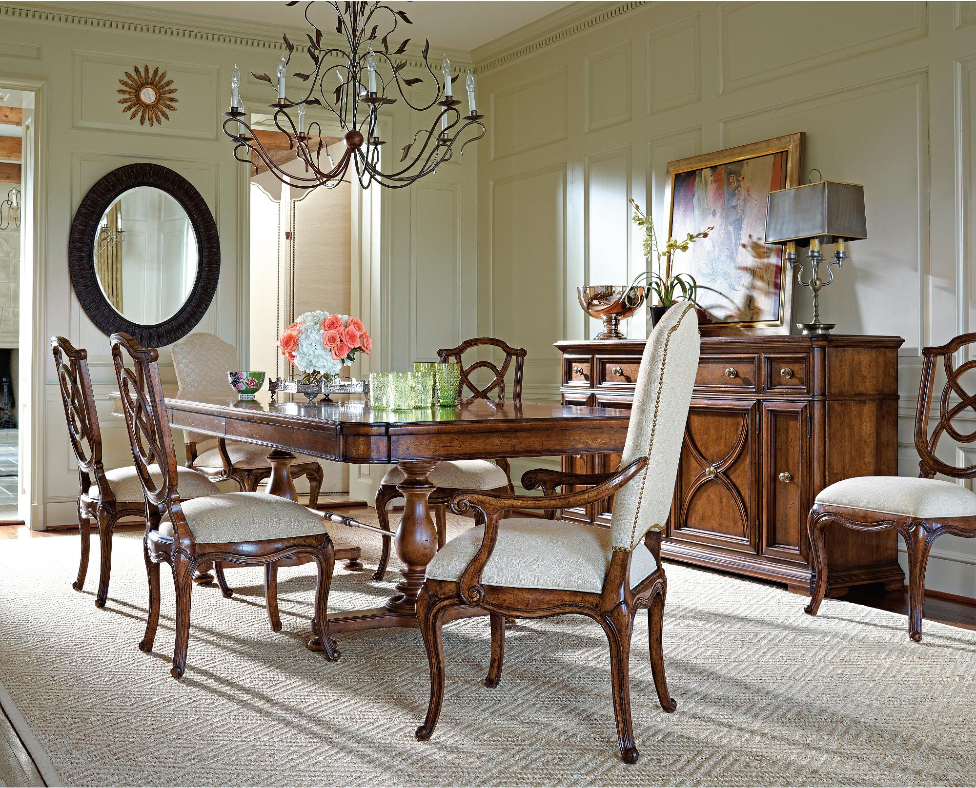 Stanley Furniture Arrondissement Formal Dining Room Group - Item Number: 222-1 Dining Room Group 1