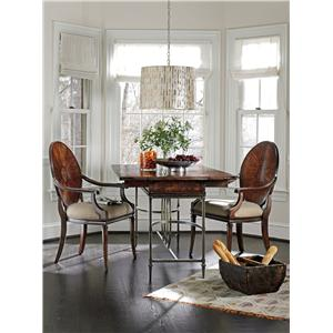 Stanley Furniture Avalon Heights Oval Art Epoch Double Pedestal Table