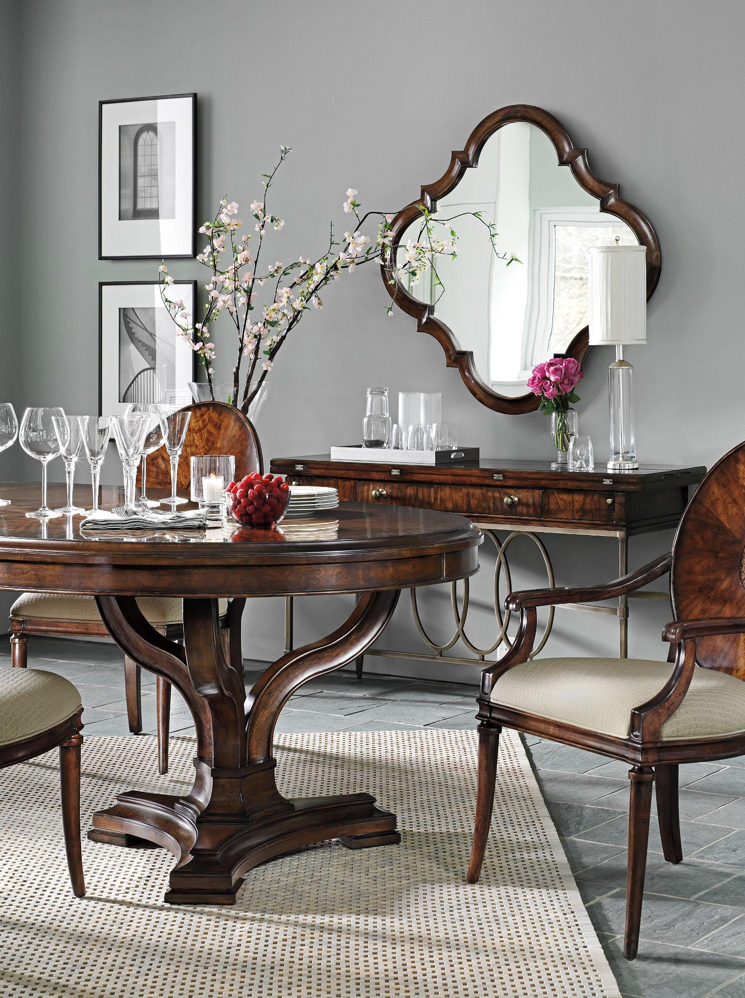 Stanley Furniture Avalon Heights Formal Dining Room Group - Item Number: 193 Dining Room Group 3