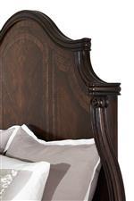 Wood Panel Bed Headboard