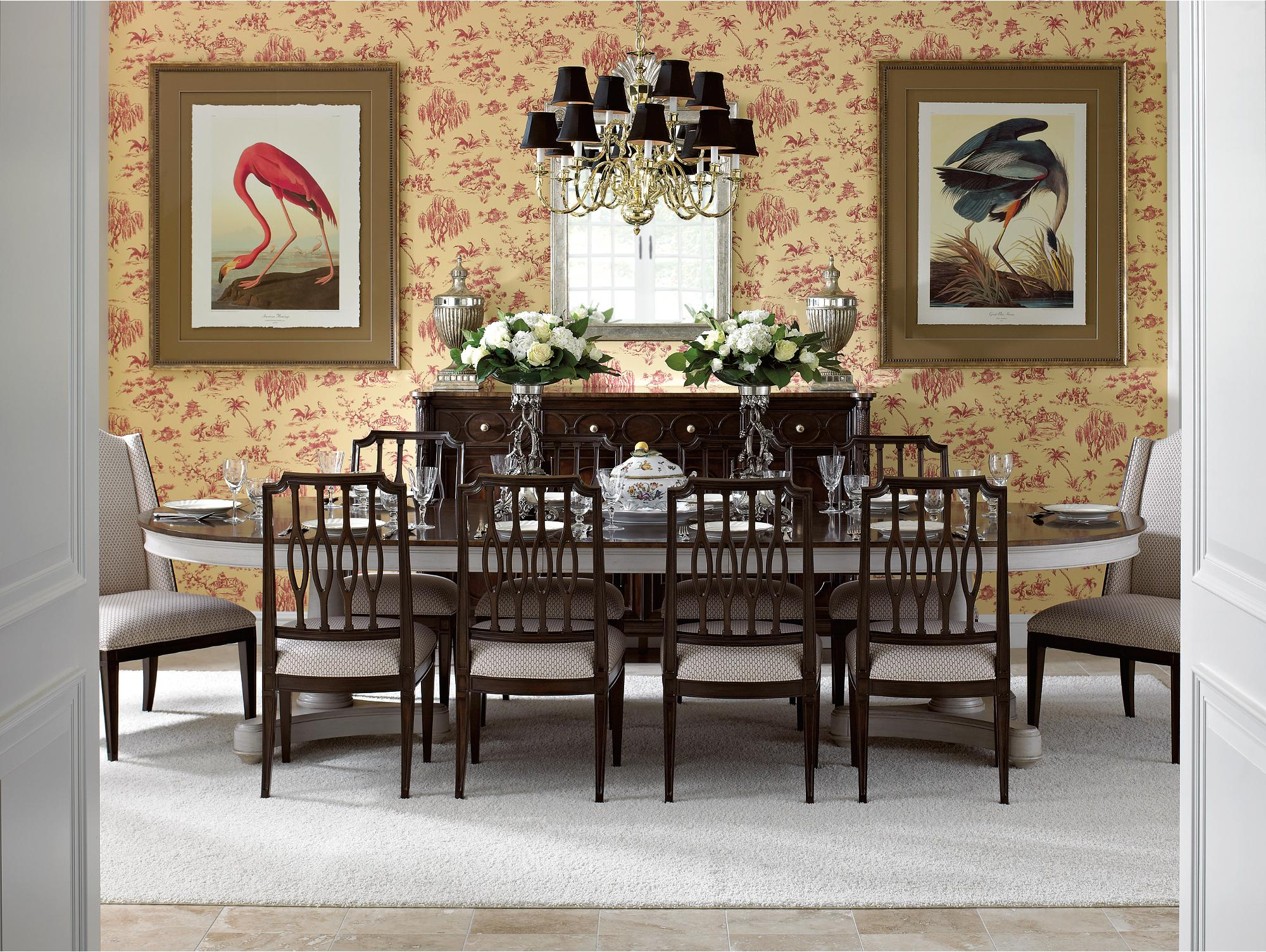 Stanley Furniture Charleston Regency Formal Dining Room Group - Item Number: 302-1 Dining Room Group 1