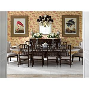 Stanley Furniture Charleston Regency Formal Dining Room Group
