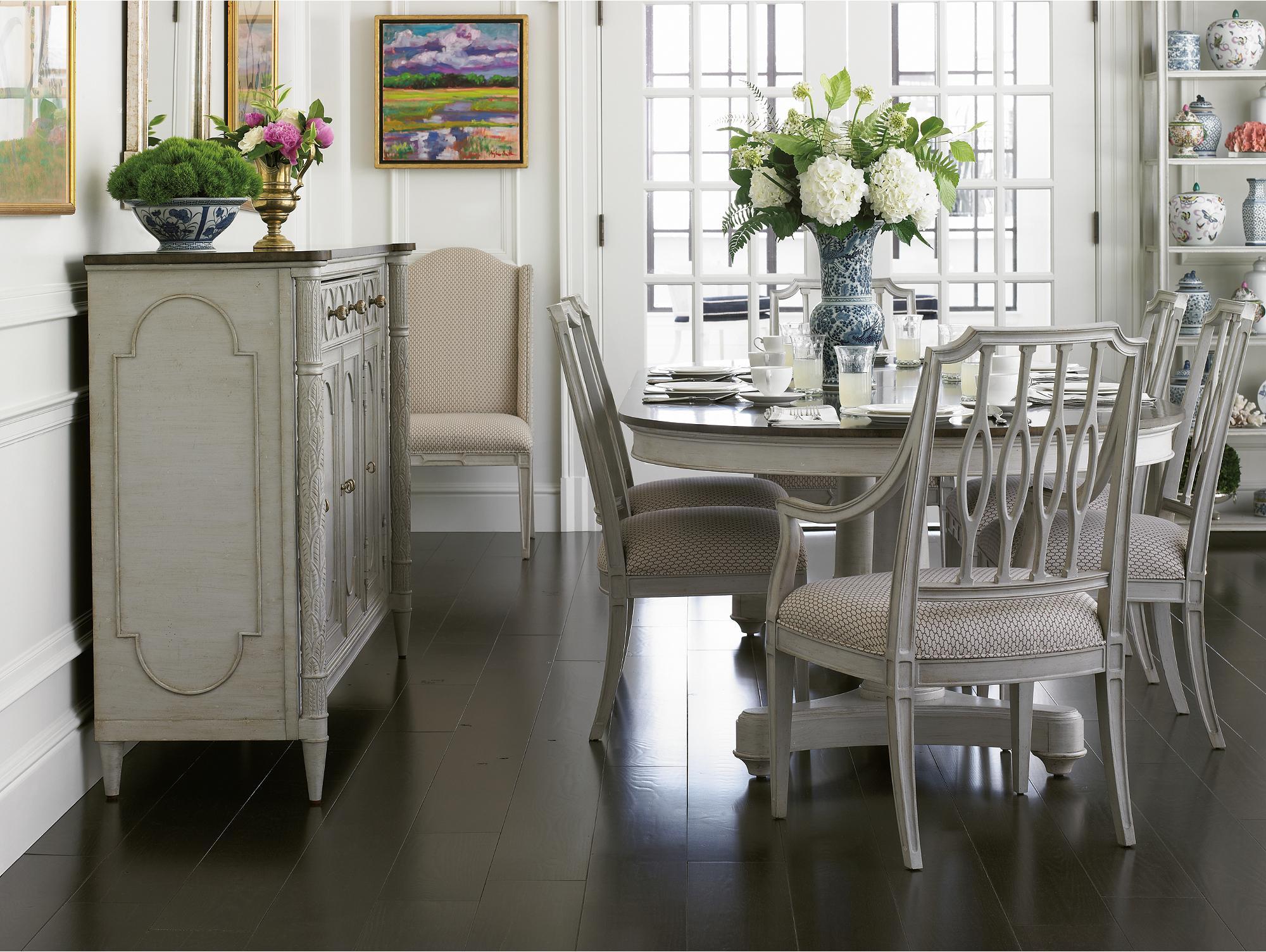 Stanley Furniture Charleston Regency Formal Dining Room Group - Item Number: 302-5 Dining Room Group 1