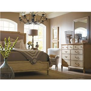 Stanley Furniture European Cottage Queen Bedroom Group