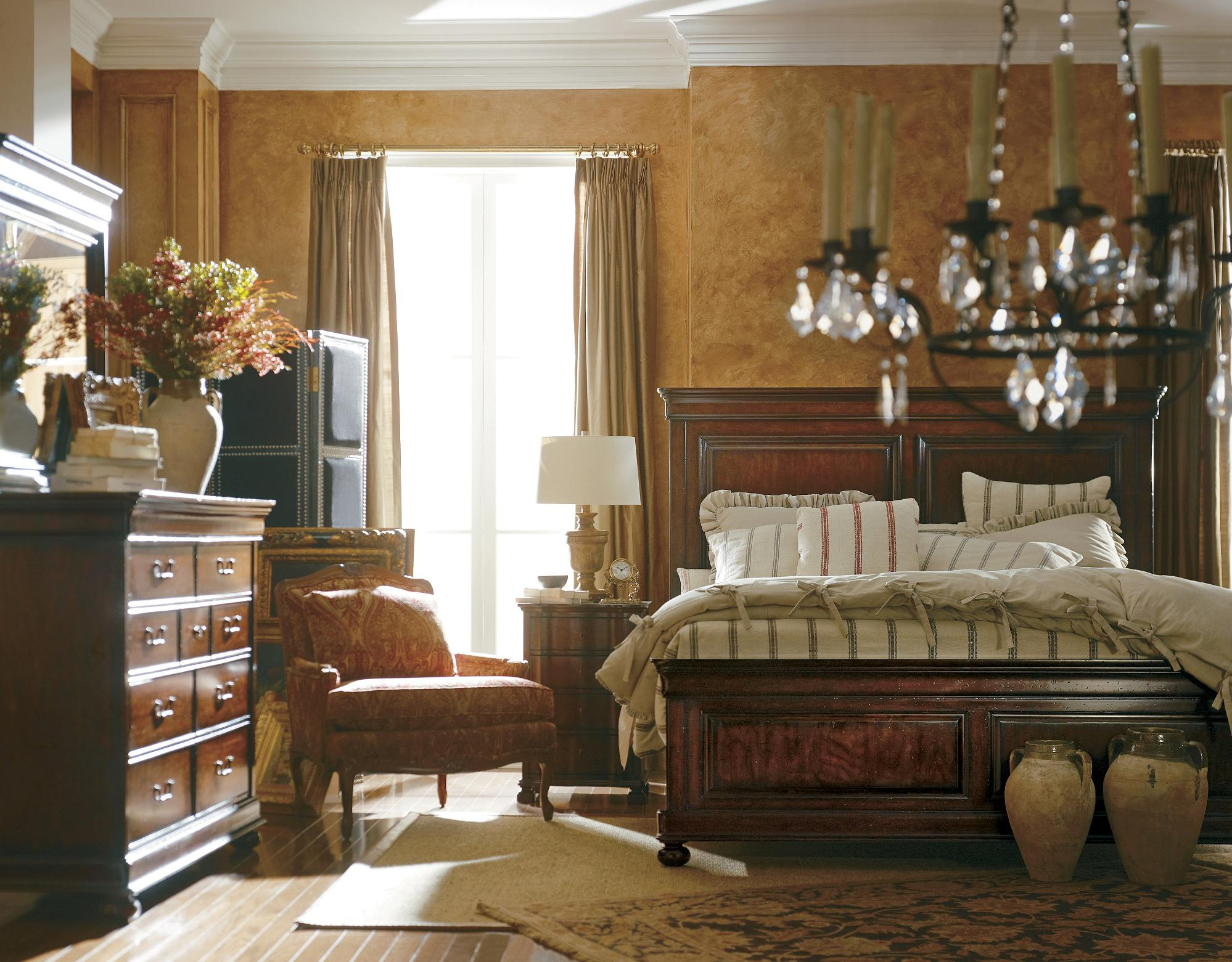 Stanley Furniture The Classic Portfolio - Louis Philippe Queen Bedroom Group - Item Number: 058-13 Q Bedroom Group 1