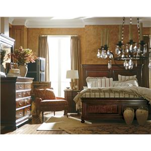 Stanley Furniture The Classic Portfolio - Louis Philippe Queen Bedroom Group