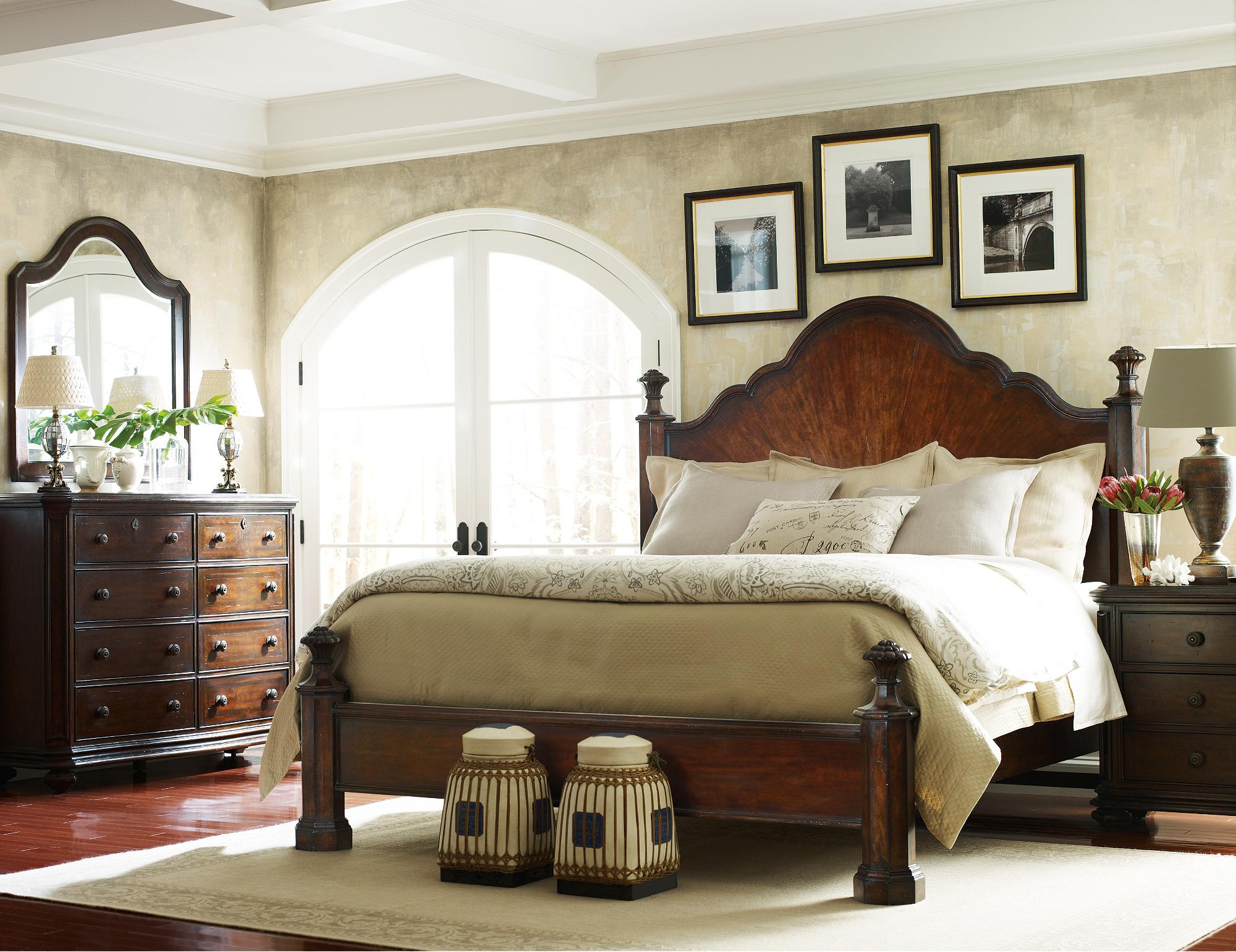 Stanley Furniture The Classic Portfolio Continental California King Bedroom Group - Item Number: 128-13 CK Bedroom Group 1
