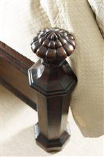 Floral-Like Carvings Embellish the Mansion Bed's Finals