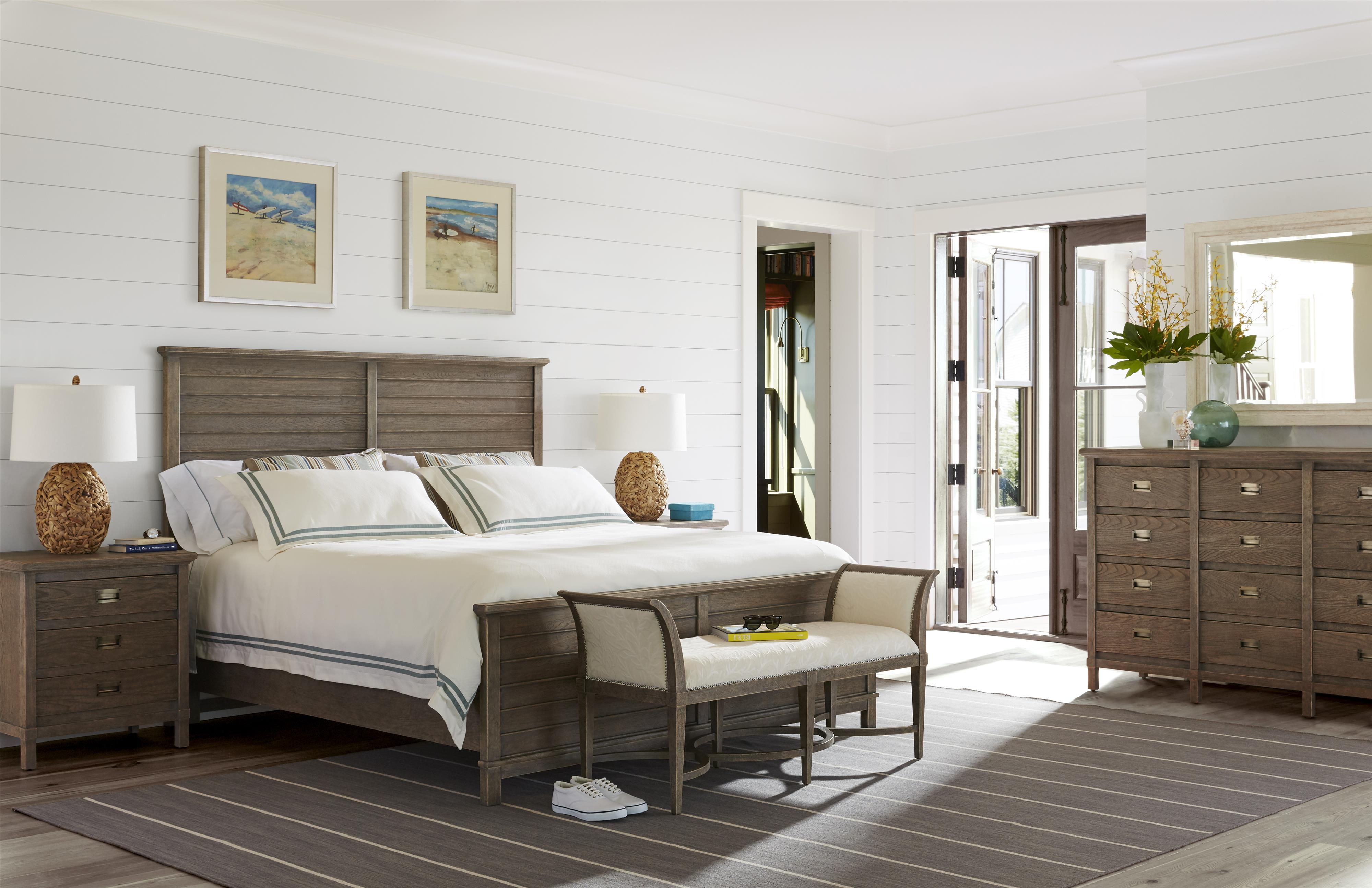 Stanley Furniture Coastal Living Resort King Bedroom Group - Item Number: 062-3 K Bedroom Group 1