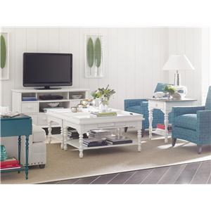 Stanley Furniture Coastal Living Retreat Sand Box Cocktail Table