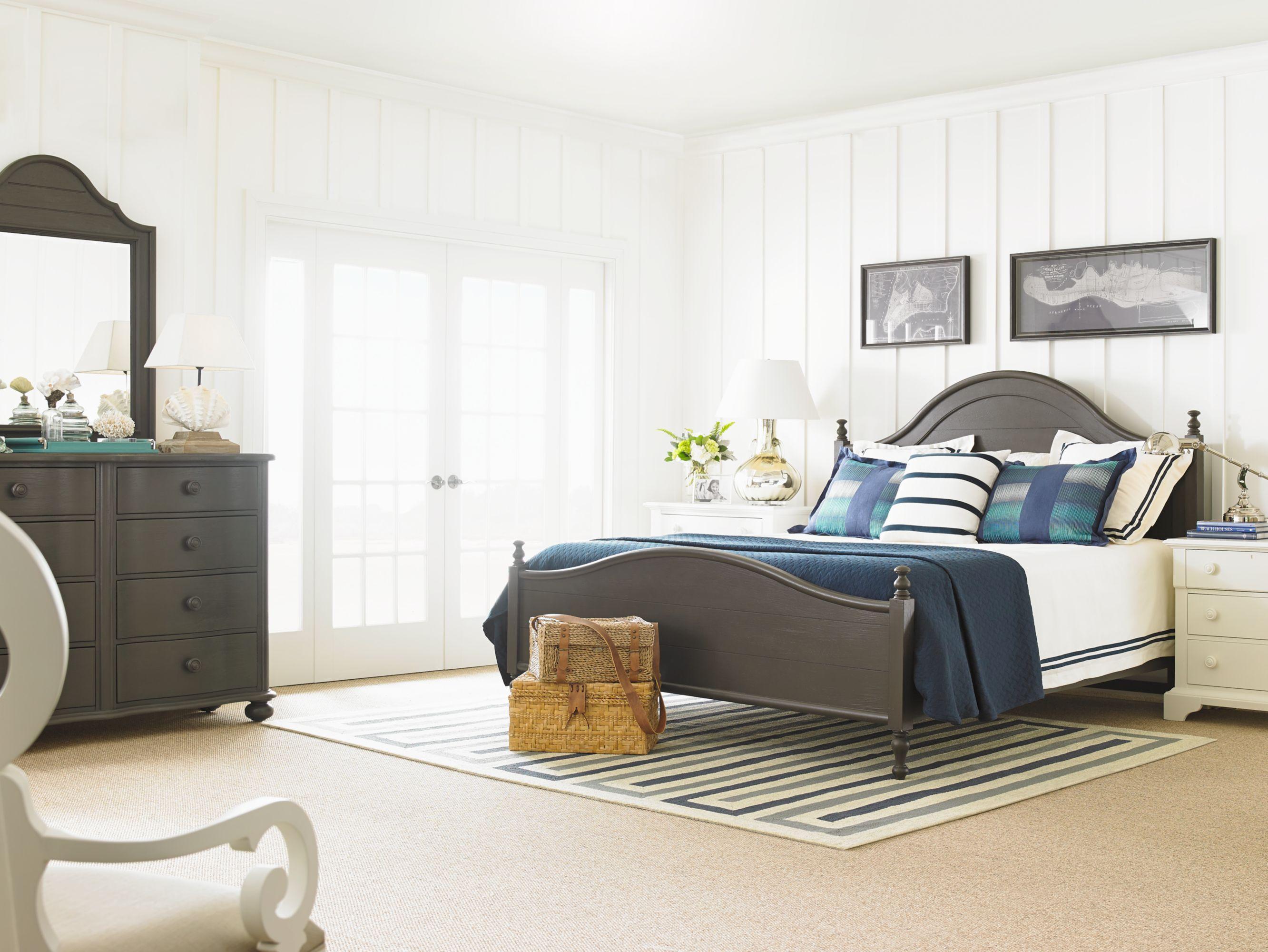 Stanley Furniture Coastal Living Retreat Rectangular Leg Table With Cerused Oak Top