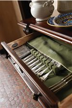 Silver Tray for Storage Convenience