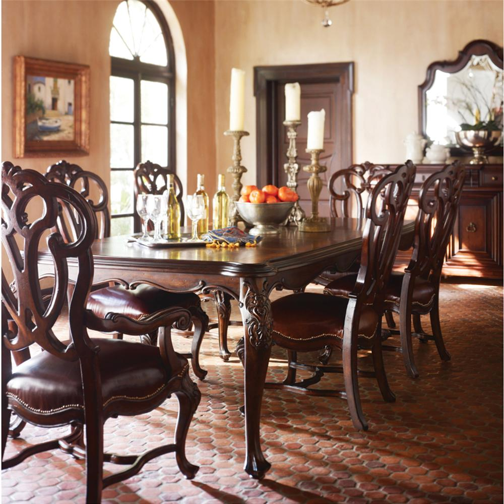 Stanley Furniture Costa del Sol Formal Dining Room Group - Item Number: 971 Dining Room Group 2