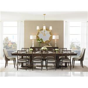 Stanley Furniture Crestaire Formal Dining Room Group