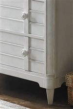 Louvered Drawer Front