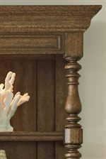 Turned Posts are a Prevalent Design Choice in the Collection