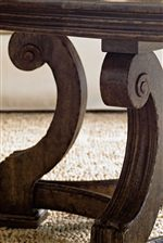 Thick Carved Volutes