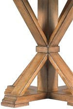 Mission Inspired Joinery Cross Pedestal