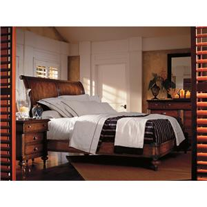 Stanley Furniture The Classic Portfolio - British Colonial King Bedroom Group