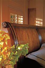Gentle Slope of Sleigh Bed Headboard