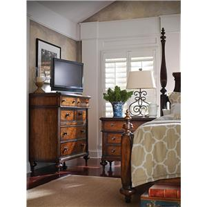 Stanley Furniture The Classic Portfolio - British Colonial Queen Bedroom Group