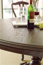 Planked Table Top with Stepped Edging