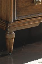 Cone Shaped Legs and Detailed Molding