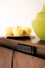 Electrical Outlet on Buffet