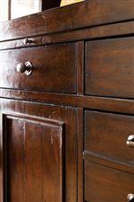 Distressed Wood Detail