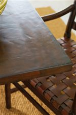Distressed Table Tops by Skiving, Gouging, Rock, and Cowtailing