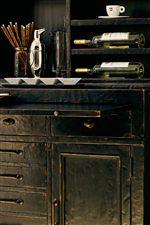 Hidden Shelf in Buffet