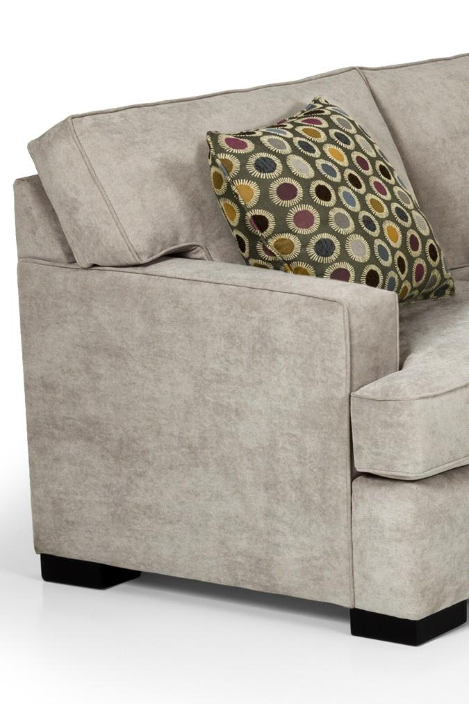 Stanton 146 Contemporary Sofa With Track Arms | Gallery Furniture | Sofas