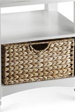 Wicker Handle Basket Drawers