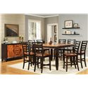 Vendor 3985 Abaco Casual Dining Room Group - Item Number: Abaco C Dining Room 1