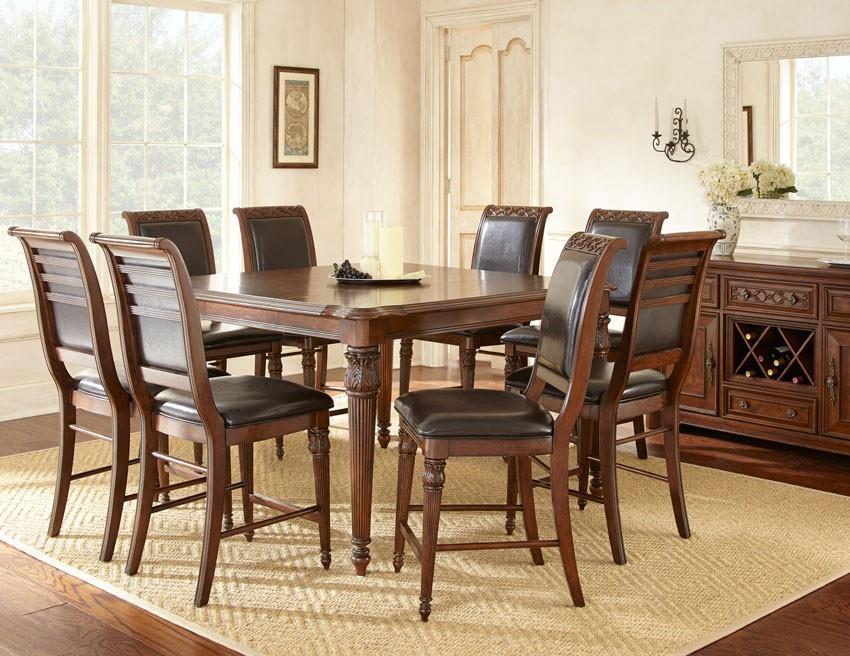 Steve Silver Alberta Casual Dining Room Group - Item Number: AB Formal Dining Room Group 1
