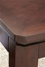 Squared Table Edge