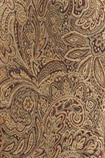 Paisley Pattern Combines Impressively with Rich Mahogany