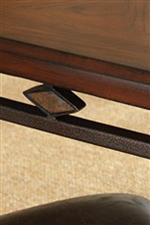 Diamond Table Edge Detail